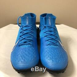 Nike Mercurial Superfly 7 Elite TF Men's Turf Soccer Shoes Sz 10.5 AT7981-414