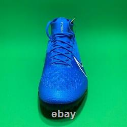 Nike Mercurial Superfly 7 Elite TF Turf Soccer Blue Shoes AT7981-414 Men's 10.5