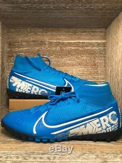 Nike Mercurial Superfly 7 Elite TF Turf Soccer Shoes AT7981-414 Men's Size 10
