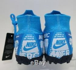 Nike Mercurial Superfly 7 Elite TF Turf Soccer Shoes AT7981-414 Men's Size 5.5