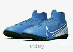 Nike Mercurial Superfly 7 Elite TF Turf Soccer Shoes AT7981-414 Men's Size 8 New