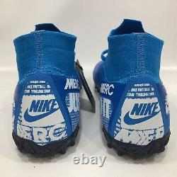 Nike Mercurial Superfly 7 Elite TF Turf Soccer Shoes AT7981-414 Men's Sz 8 New