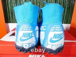 Nike Mercurial Superfly 7 Elite TF Turf Soccer Shoes AT7981-414 Size 11.5-13