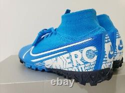 Nike Mercurial Superfly 7 Elite TF Turf Soccer Shoes (AT7981-414) Size 7 (W 8.5)
