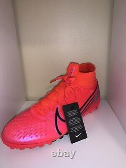 Nike Mercurial Superfly 7 Elite Tf Turf Soccer Shoes Laser Crimson/black-laser C