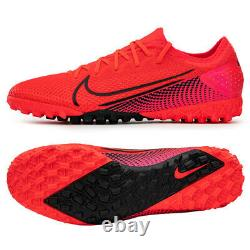 Nike Mercurial Vapor 13 PRO TF Turf Football Shoes Soccer Cleats Red AT8004-606