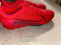 Nike Mercurial Vapor XIII Pro TF Turf Soccer Shoes, Size 9.5, Proximo