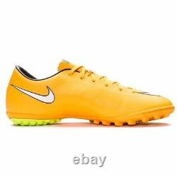 Nike Mercurial Victory IV TF Turf Soccer Shoes 2014 New Laser Orange / White