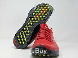Nike Ohio State Buckeyes Vapor Speed Turf Golf Shoes Red Men Sizes 10.5 11 Run