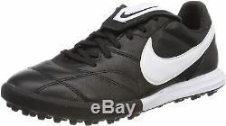 Nike Premier II TF Turf Soccer Shoes Men's Size 12 Black White