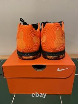 Nike React Gato Indoor Soccer Turf Shoes Mens Size 10.5 Womens 12 Black Orange