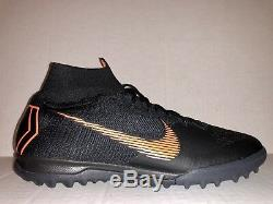 Nike SuperflyX 6 Elite TF Turf Soccer Shoes Mens Size 11 AH7374-081