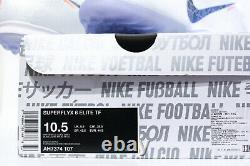 Nike SuperflyX VI 6 Elite TF US10.5 Turf Superfly Mercurial Vapor AH7374 107