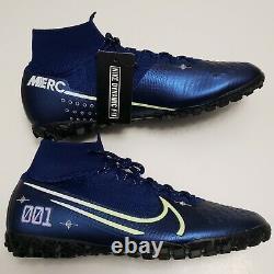 Nike Superfly Elite 7 MDS TF Indoor Soccer Shoes BQ5471-401 Men's Size 9.5