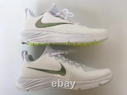 Nike Sz 9 Vapor Speed Turf Super Bowl LII Football Cleat Shoes 833408 112 White
