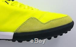 Nike TiempoX Proximo TF Turf Soccer Shoes Leather Volt 843962-707 Size 11.5