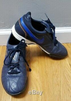 Nike Tiempo 10R Ronaldinho Turf Soccer 315284-447 2007/08 Men's size 8.5 US