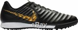 Nike Tiempo Legend VII Academy Turf TF 2019 Soccer Shoes Black Gold
