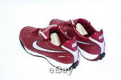Nike Tiempo Mystic III TF US8 Indoor Turf Burgundy Legacy Legend 366183 606