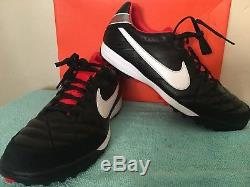 Nike Tiempo Mystic IV Turf Soccer Shoes Size 10.5