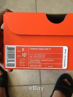 Nike Tiempo X Finale 10R TF Size 10 Soccer Shoes Ronaldinho Turf