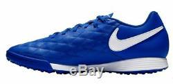 Nike Tiempo X Legend VII 10R Academy Ronaldinho Turf TF 2018 Soccer Shoes Blue