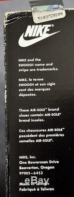 Nike VTG Original Marino Air Max Speed Turf1995New In BoxMen's 11173066-131