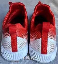 Nike Vapor Speed Shoes Lacrosse Cleats Turf Lax Lunarlon 856542 616 Mens Size 12
