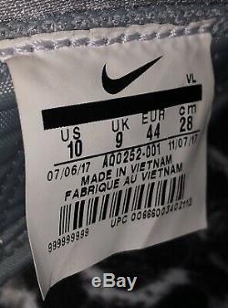 Nike Vapor Speed Turf Black History Month BHM AQ0252-001 Men Size 10 Turf Shoe