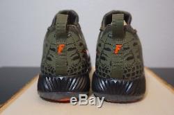 Nike Vapor Speed Turf Florida Gators Medium Olive/Black Men Size 14 #924775-280