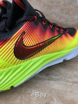 Nike Vapor Speed Turf Football Lacrosse Trainer Shoes Solar Flare