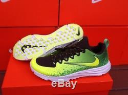 Nike Vapor Speed Turf Football Trainer Green Black White 833408-373 Mens Sz 9