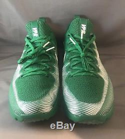 Nike Vapor Speed Turf Football Trainer Green White 833408-311 Mens Size 10.5