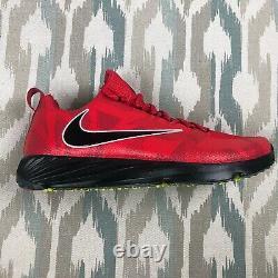 Nike Vapor Speed Turf Ohio State Buckeyes Men's Training Shoes Red Size 10.5 /12