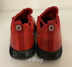 Nike Vapor Speed Turf Ohio State Training Shoes Mens Sz 13 Red Black 924776-601