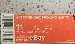 Nike X Jordan X Neymar HYPERVENOMX PROXIMO Turf Shoes Size 11