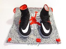 Nike Youth Jr Hypervenom X Proximo NJR TF Turf Shoe Size 4Y 831939 006 Jordan