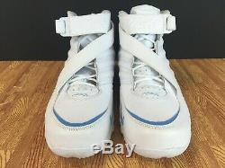 Nike Zoom Air Vick III 3 Men's Training Shoes 832698-100 White Blue SIZE 12