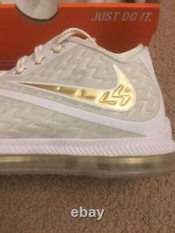 Nike Zoom Field General 2 Championship Drive 749310 170 Brand New White Gold 9.5