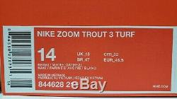 Nike Zoom Mike Trout 3 Turf Shoe DeadStock Memorial Day/Camo Edition Size 14