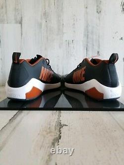 Nike Zoom Trout 4 PE Sample Texas Longhorns Turf Shoes AO1011-081 Men's Size 14