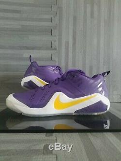 Nike Zoom Trout 4 Turf/Trainer LSU Tigers PE Sample Baseball Men's Size 12.5