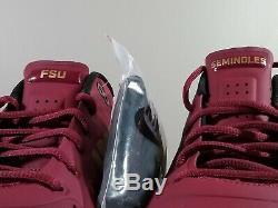 Nike Zoom Trout 4 Turf/Trainer PE Sample FSU Seminoles AO1011-670 Mens Size 11.5