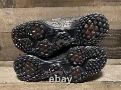 Nike Zoom Trout 5 Turf Baseball Trainer Shoes Black Mens Sz 9 AH3374 002