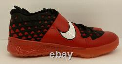 Nike Zoom Trout 6 Turf Shoes Size 13 Red/black AT3463-601 New No Box