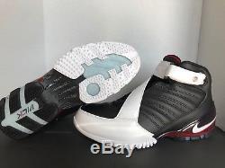 Nike Zoom Vick III Men's Black White Red 832698-001 TURF TRAINER (Size 10)