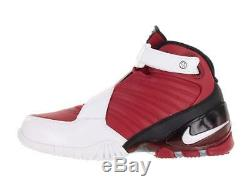 Nike Zoom Vick III Red White Black Basketball Shoes Mens Size 8.5 832698-600