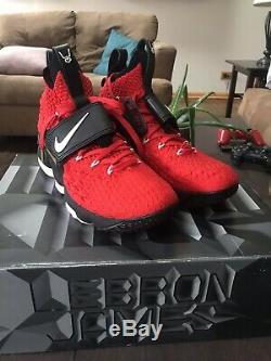 pretty nice d95da a3714 Nike lebron 15 diamond turf Size 10.5 Mens Red Black
