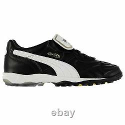 Puma King Allround Astro Turf Football Trainers Mens Black/White Soccer Shoes