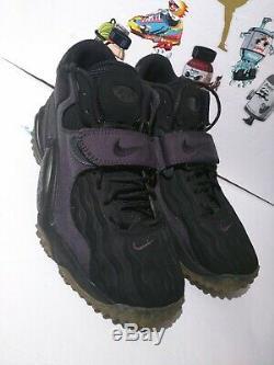 RARE Nike Air Zoom Turf Jet 97 NFL 621957-020 BLACK Mens Size 12